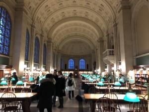 ボストン公共図書館