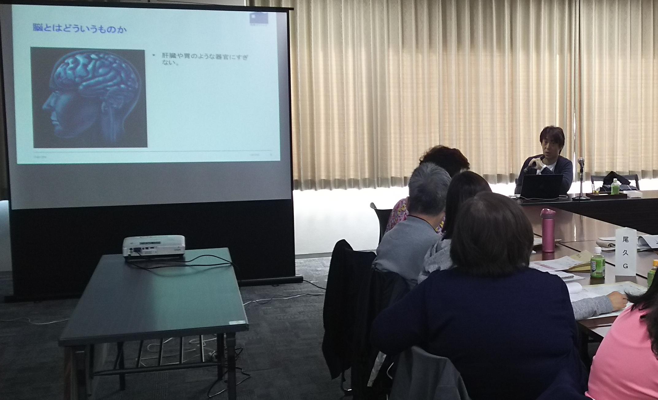 11月7日 認知症キャラバンメイト養成講座にて講義を担当しました。